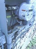 Burned Electrical Meter