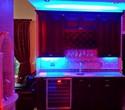 Multi-color LED under cabinet lighting - Purple under bar