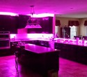 Multi-color LED under cabinet lighting - Purple